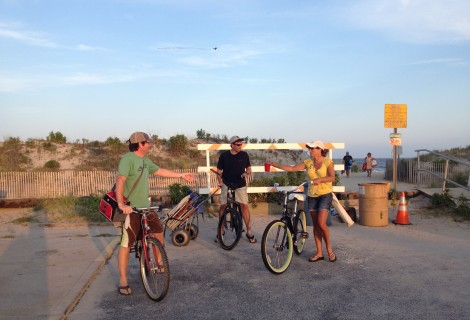 Wheeling and Wandering: Travel with Bikes