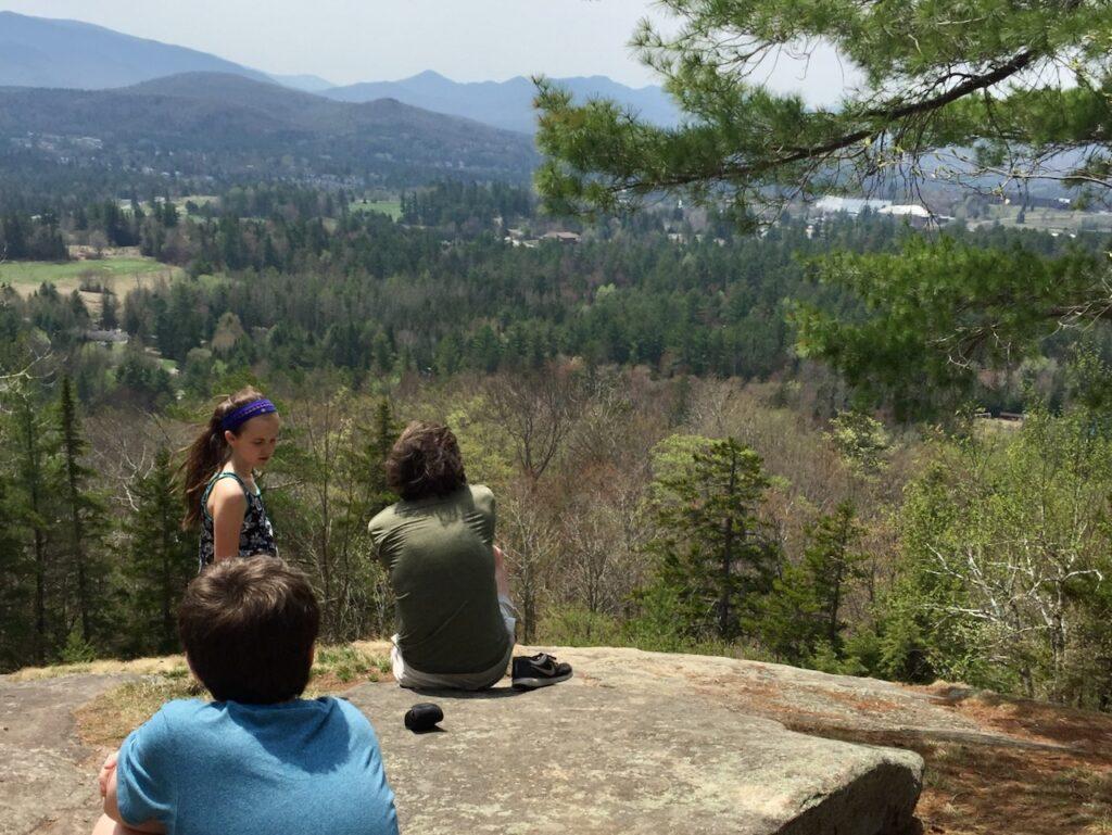 Hiking Lake Placid