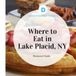 Lake Placid NY Restaurant Guide