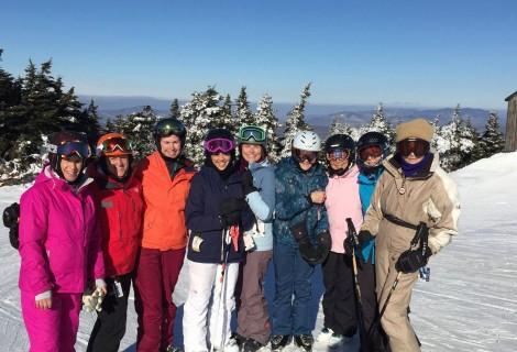 Women's Ski Clinic at Stratton Mountain