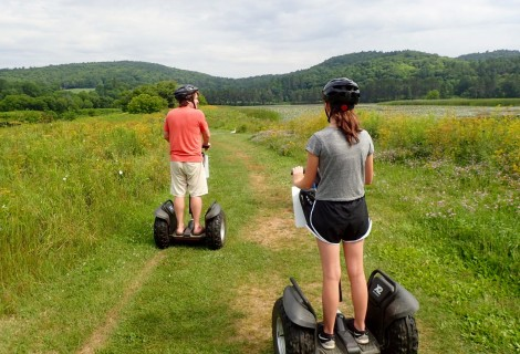 Off-Road Segway Tours In Vermont