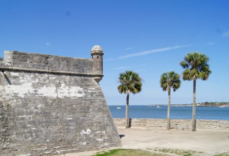 Castillio de San Marcos in St. Augustine, FL
