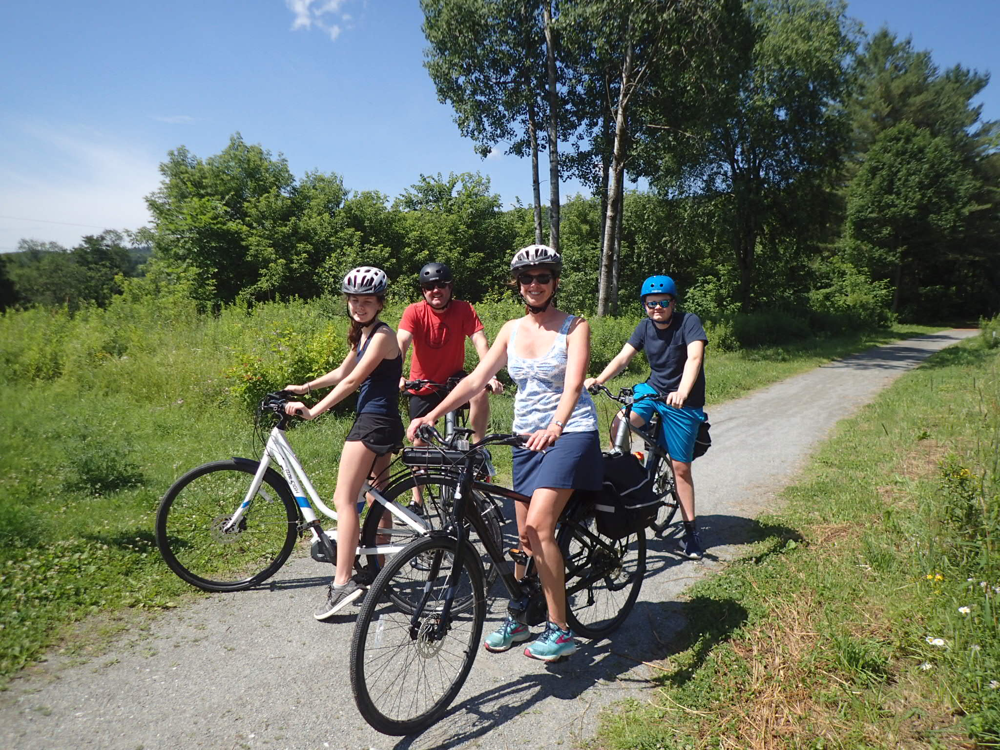 Electric Bikes Tours In Vermont