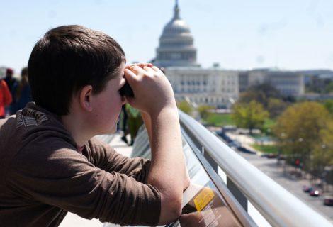 Washington, DC Rooftop View