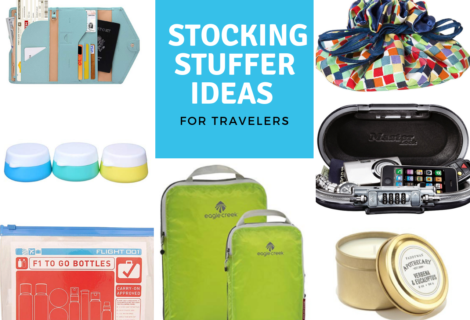 Best Stocking Stuffer Ideas for Travelers