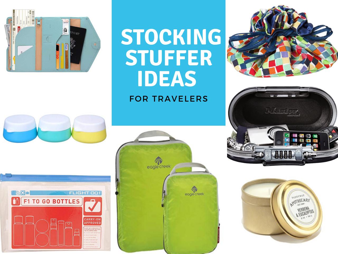 Best Stocking Stuffer Ideas for Travelers