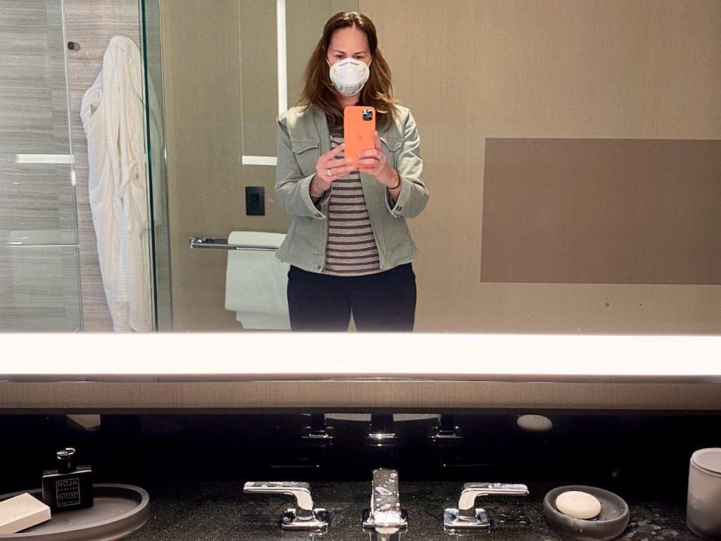 hotel during coronavirus