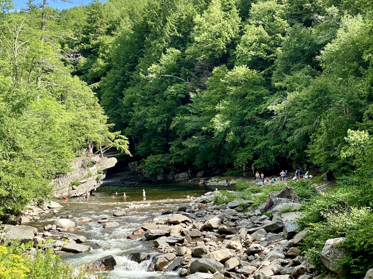 Sensational Vermont Swimming Holes